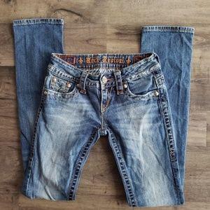Rock Revival Jen Straight Jeans